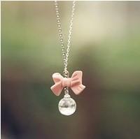 Nanana jewlery store N128  pendant blanks jewelry cabochon Pendants  pink bowknot pendants free shipping