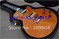 Free shipping/with hard case G-Slash Appetite for Destruction New arrival Orange stripe color standard model Electric Guitar