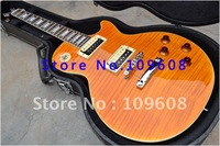 Free shipping+guitar cases G-Slash Appetite for Destruction New arrival Orange stripe color standard model Electric Guitar