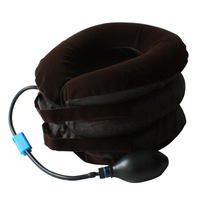 Cervical traction device household cervical vertebra topping-up traction device medical collar