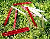 free shipping aluminum tent peg tent nail 23cm