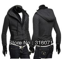 Мужской тренч New Arriver Slanting Stripe Double Breasted Men's Casual Medium-Long Outerwear 5831