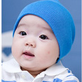 2013 100% free shipping Children Spring Summer cotton pocket chromophous thick bonnet newborn baby hat kids cap 2 pcs wholesale