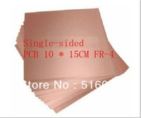 10X15cm Single Side 10*15cm thickness 1.5~1.6mm FR-4 Glass fiber Blank Copper Clad Printed Circuit Board Universal Prototype PCB