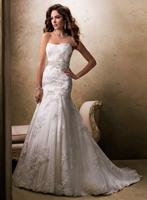 Holiday sale Stylish Weddings Sleeveless Satin 2013 Wedding dress A-Line Bridal Gown
