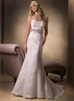 Holiday sale Stylish Weddings Sleeveless 2013 Wedding dress Mermaid Bridal Gown