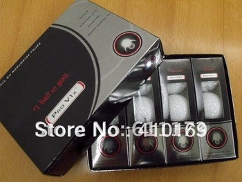 Wholesale free shipping Wholesale new various kinds V1x Golf Balls 10pieces(120 balls)