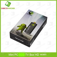 Android 4.1 TV BOX Dual-Core Rockchip3066 1.6GHz 1GB 4GB HDMI 3D Mini PC 10Pcs/Lot DHL Free Shipping