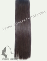 Brazilian Virgin Remy Hair Weave,12inch-22inch,Yaki Straight,color #4 ,3pcs/lot, Free shipping