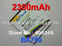 10pcs/lot 2300mAh BA750 High Capacity Battery Use for Sony Ericsson LT 15i/Xperia Pro/X12 etc Mobile Phones