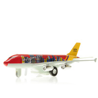 free shipping 747 Jetliner model bus alloy model acoustooptical toy