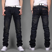 FREE SHIPPING! Retail and Wholesale! 2013 Hot Classic Design Trousers Men's Slim Jeans (H818) W27-36