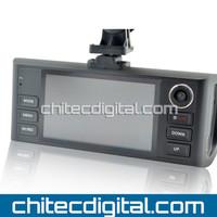 2013 Newest CD-F50 720P HD Dual Camera Car Camera,Car Black Box ,H.264,Night Vision Free Shipping,Drop Shipping