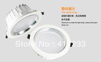 High power casting aluminium LED downlight 9w