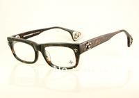 Free shipping Hot Designer Acetate eyeglasses men's/women's Brand name DRILLED Tortoise optical glasses 53mm-18mm airmail