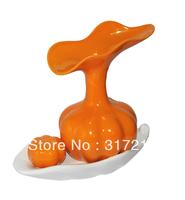 Fashion modern home decoration fruit flower vase european decoration ceramic handicraft wedding gifts wholesale and retail