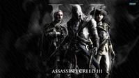 "025 ART PRINT Assassins Creed 3 iii ezio hot tv video Game 24"" x 14"" inch poster cloth"