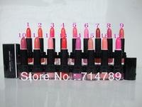 FREE SHIPPING MAKEUP NEW LUSTRE LIPSTICK ROUGE A LEVRES  17 colors choose(12 pcs / lot)