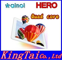 "In stock, Ainol NOVO 10 hero II  quad core , 10.1"" IPS android 4.1 1G/16GACT Quad Core ACT ATM7029 1.5GHz tablet"