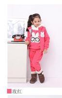 HOT SALE FREE SHIPPING Children's clothing thickening sweatshirt vest three piece pony Hoodies,Sweatshirts S83