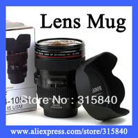 6pcs Lens Mug Travel Coffee Mug Camera Canam Cup Free Shipping Wholesale & Retail