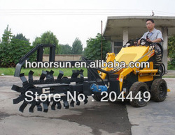 300kg mini skid loader HS300 with USA Briggs&Strat /compact body and multifunction/Variety of Attachment /Trencher(China (Mainland))