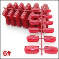 Short Nail Tips Full Cover Color Decoration Nail Tips Fashionable Nails False Nails