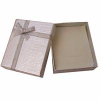 Hot sales! Free shipping  12 pcs 7x8x2.2cm Silver ring box jewelry box