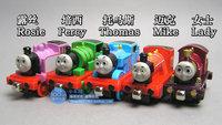 Thomas alloy magnetic thomas train toy dolls set 5 jackknifed