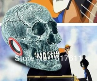 High quality European and American style mini card speaker music player putting audio features skull free shipping