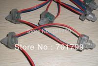 DC12V input WS2811 pixel node,100pcs a string,IP68 rated
