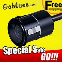 Gobluee free shipping night vision car camera / Water Proof car security backup camera reverse cameras for all cars