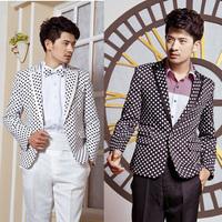 Male formal dress groom wedding dress clothes set sploshes clothes
