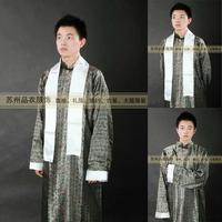 Costume long gown lab coat clothes long gown lab coat