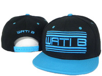Cheap WATIB Snapback  adjustable hats Wati B WA43 black /blue  Are Extremely Loved By People top quality free ship !