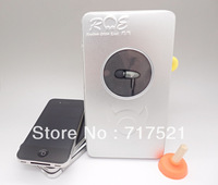 DHL free shipping 100pcs/lot metal head in ear stereo music headphone with retail box for cell phone ,mp3/4