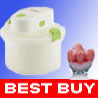 Auto Electric Ice Cream Maker 1-Liter L 1-Quart Qt #10A