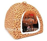 Luxury Leopard  pet dog house