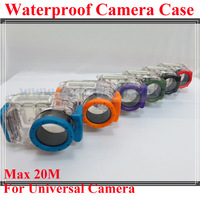 DSLR Waterproof Camera Case for Universal Card Camera Case, 20M Underwater Diving Camera Housing, Showerproof Camera Protector