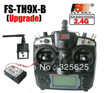 Free Shipping 2.4G 9ch system Flysky FS rc Transmitter & Receiver Combo remtoe control FS-TH9X TH9XB TX + RX
