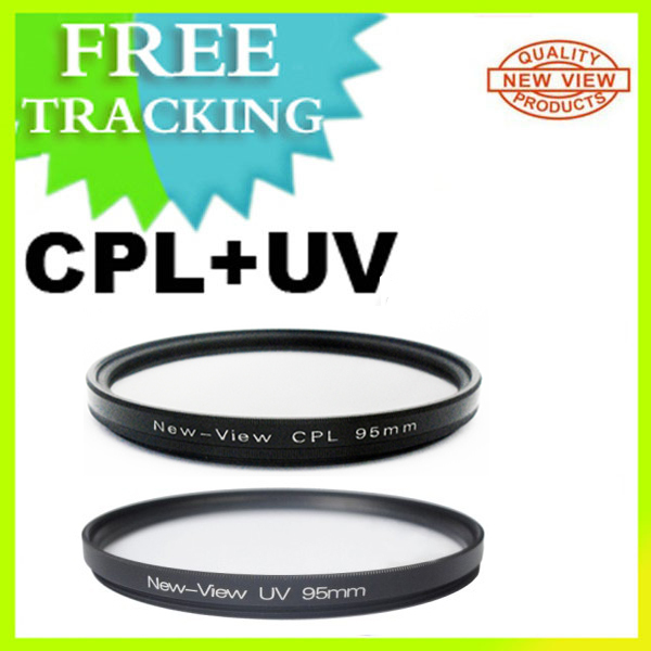 New 95MM CPL + UV Circular Multi Coated Polarizing Filter Kit for Sigma 50-500mm OS Lens Free Shipping(China (Mainland))