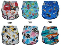 10 sets/lot-Coolababy one size bamboo charcoal Cloth diapers  10 pieces diapers+20 inserts