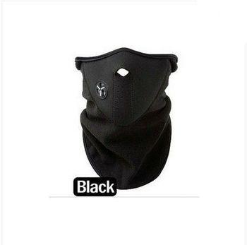4pcs ride ski snowboarding motorcycle Windproof half mask long style black free ship