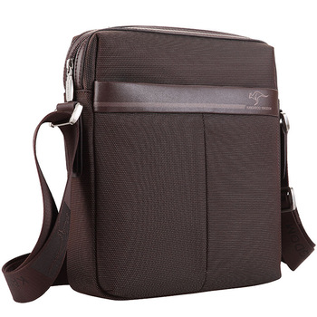 2012 australian kangaroo man bag male canvas shoulder bag male casual oxford fabric messenger bag 932