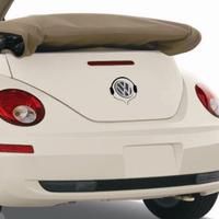 Fashion 2pcs/lot  personalized Earphones decoration stickers reflective vw car logo sticker 3 color car styling