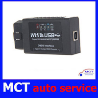 2013 New Auto Scan tool ELM327 WIFI,ELM 327 wifi,WIFI327 USB OBD2 EOBD Supports Android and IPHONE/IPAD+ Free shipping