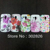 Butterfly Flower TPU Gel Case For Samsung Galaxy S Duos S7562