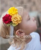 "4.5"" Baby girl felt headband Girls' Hair Accessories Baby felt head band hair bands hair clips B010"