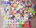 NB015 flower buttons12.5mm assorted colors 200pcs two holes resin buttons for craft children shirt buttons