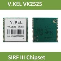 V.KEL VK2525 GPS module,SIRT III, SIRF 3 Chipset, GPS Tracker, GPS Receiver, RoHS, 20 Channels. 2 X RS232, 2.54CM*25.4*0.3